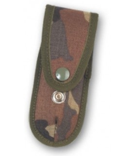 Camouflaged knife sheath