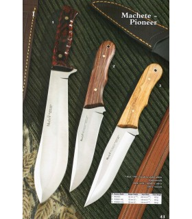 Machete and knife Pioneer