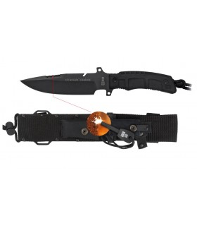 Tactical knife, blade 16 cm.