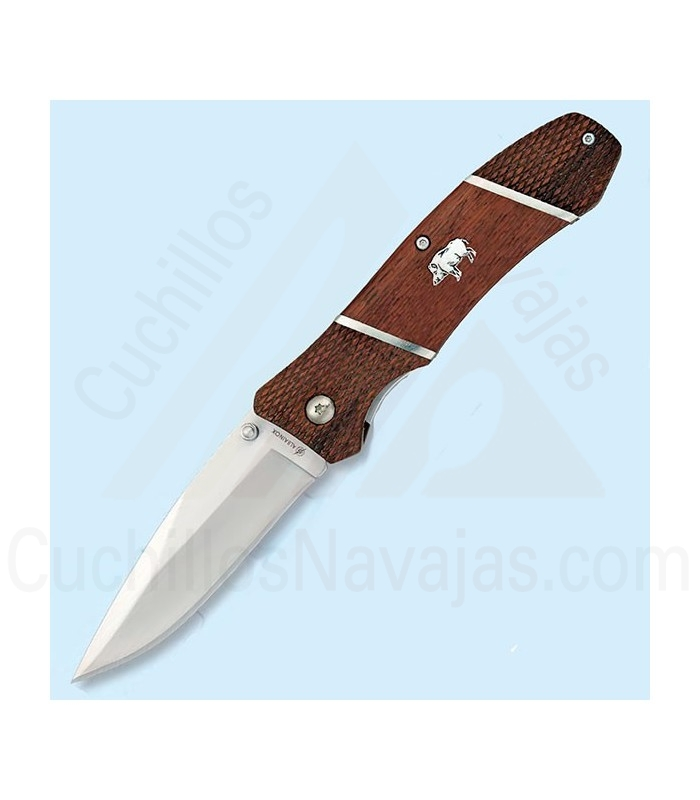 Knife with handle decorated