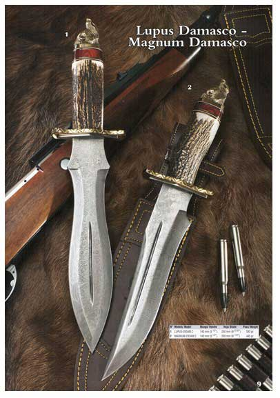 Cuchillo Lupus Damasco