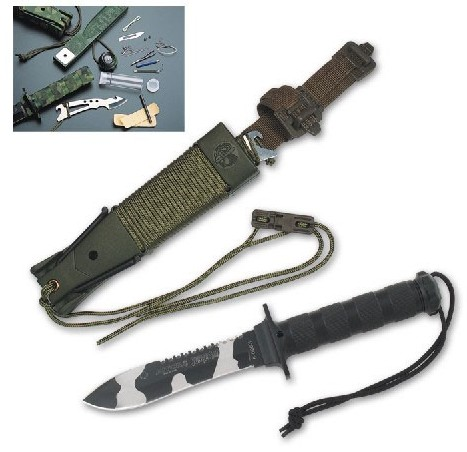 Cuchillo Superviviencia Jungle King II Urban