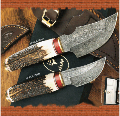 CUCHILLO AFRICA ACERO DAMASCO
