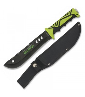 Cuchillo Mad Zombie con funda