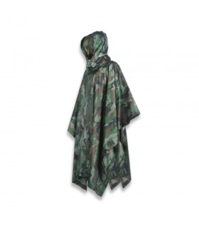 Poncho impermeable color camo