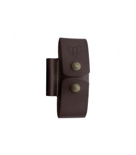 Funda marrón para accesorios