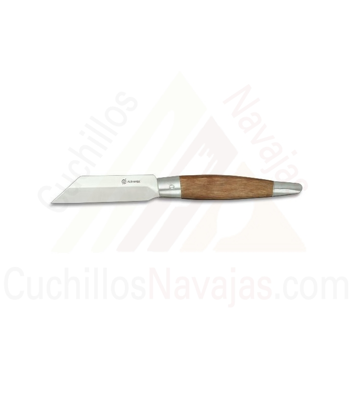 Navaja mango de madera, hoja 7,7 cms.