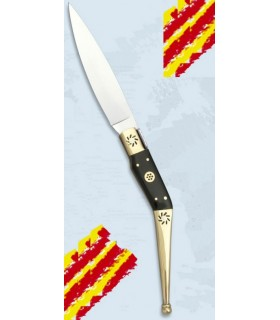 Navaja Catalana asta toro, hoja 11,6 cms.