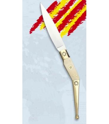 Navaja Catalana hueso, hoja 8,2 cms.