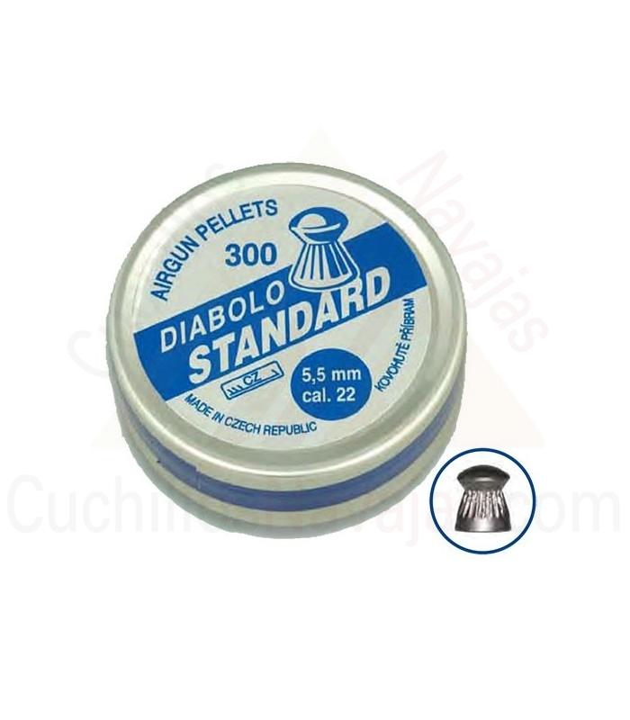 Balines Diabolo Standard, Cal. 22