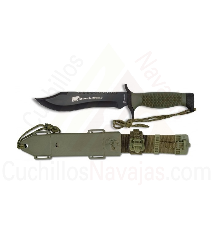 Cuchillo Black Bear, hoja 18 cms.
