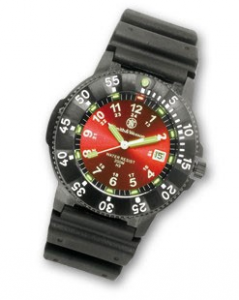 Reloj Smith & Wesson Sport esfera roja