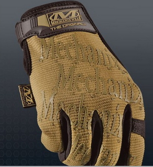 GUANTE MECHANIX WEAR MARRON - Guantes Mechanix Wear